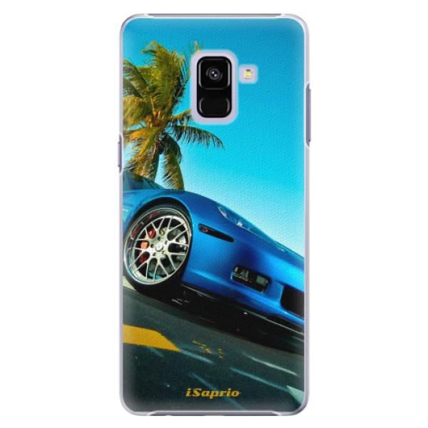 Plastové pouzdro iSaprio - Car 10 - Samsung Galaxy A8+