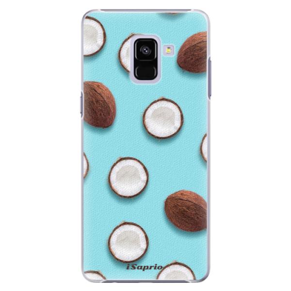 Plastové pouzdro iSaprio - Coconut 01 - Samsung Galaxy A8+