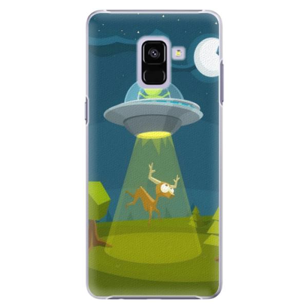 Plastové pouzdro iSaprio - Alien 01 - Samsung Galaxy A8+