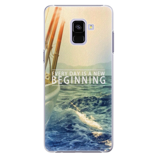 Plastové pouzdro iSaprio - Beginning - Samsung Galaxy A8+