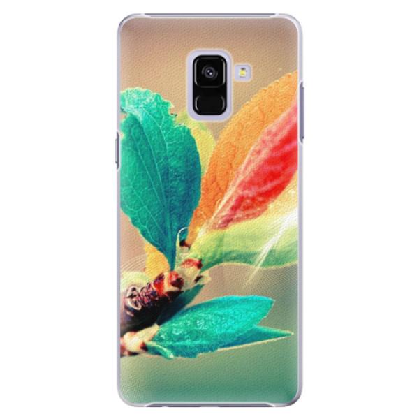 Plastové pouzdro iSaprio - Autumn 02 - Samsung Galaxy A8+