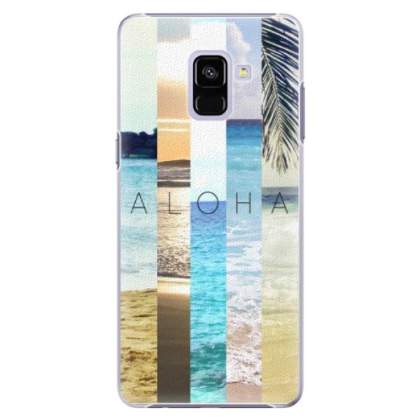 Plastové pouzdro iSaprio - Aloha 02 - Samsung Galaxy A8+