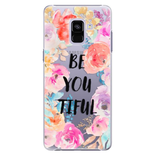 Plastové pouzdro iSaprio - BeYouTiful - Samsung Galaxy A8+