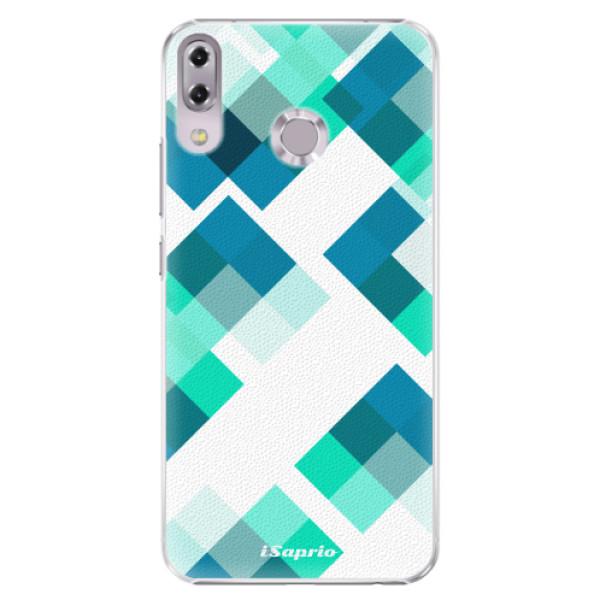 Plastové pouzdro iSaprio - Abstract Squares 11 - Asus ZenFone 5 ZE620KL