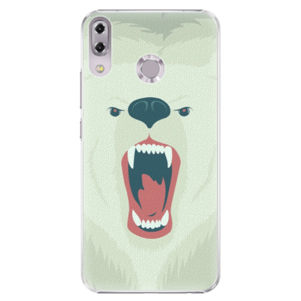 Plastové pouzdro iSaprio - Angry Bear - Asus ZenFone 5 ZE620KL