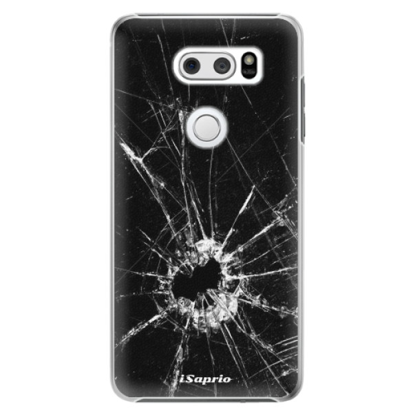 Plastové pouzdro iSaprio - Broken Glass 10 - LG V30