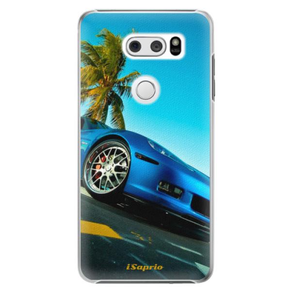 Plastové pouzdro iSaprio - Car 10 - LG V30