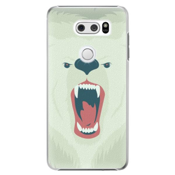 Plastové pouzdro iSaprio - Angry Bear - LG V30
