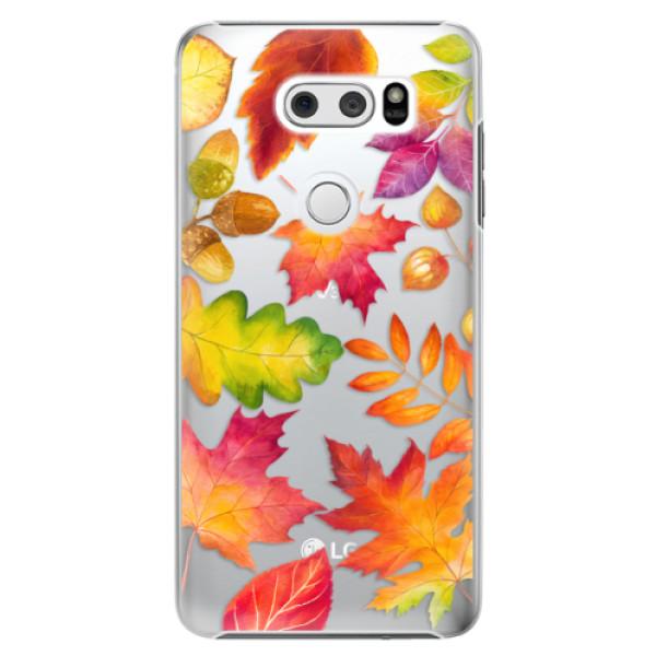 Plastové pouzdro iSaprio - Autumn Leaves 01 - LG V30
