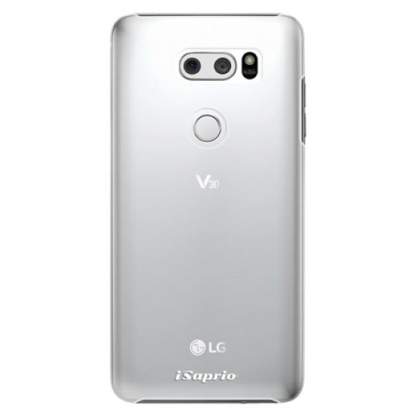 Plastové pouzdro iSaprio - 4Pure - mléčný bez potisku - LG V30