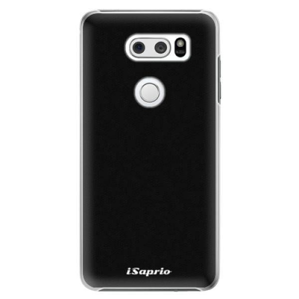 Plastové pouzdro iSaprio - 4Pure - černý - LG V30