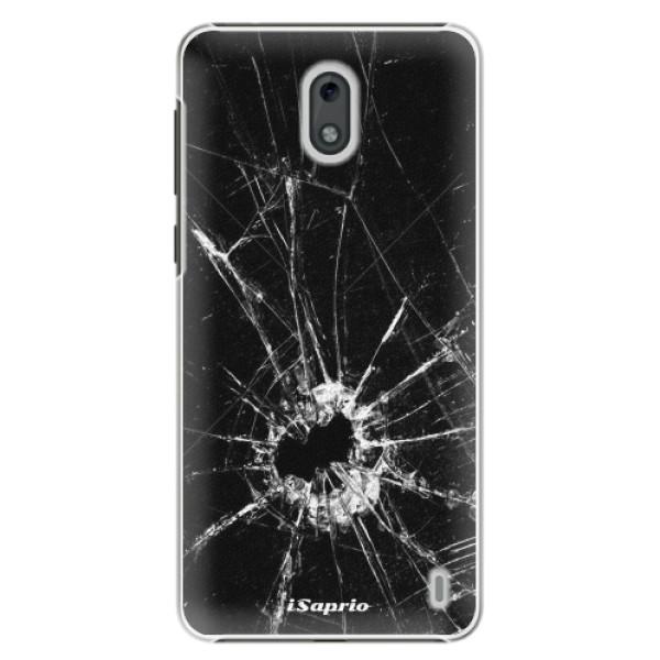 Plastové pouzdro iSaprio - Broken Glass 10 - Nokia 2