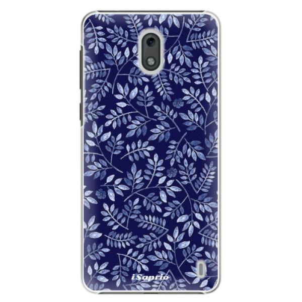 Plastové pouzdro iSaprio - Blue Leaves 05 - Nokia 2
