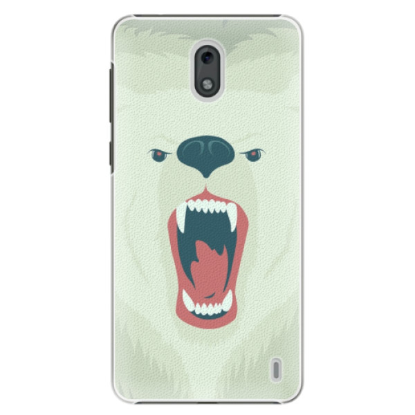 Plastové pouzdro iSaprio - Angry Bear - Nokia 2