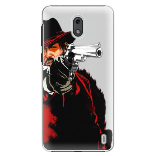 Plastové pouzdro iSaprio - Red Sheriff - Nokia 2