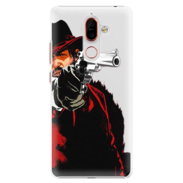 Plastové pouzdro iSaprio - Red Sheriff - Nokia 7 Plus