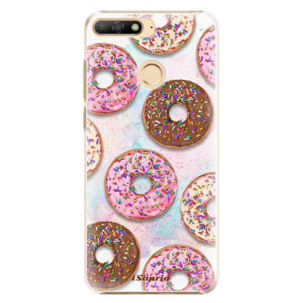 Plastové pouzdro iSaprio - Donuts 11 - Huawei Y6 Prime 2018