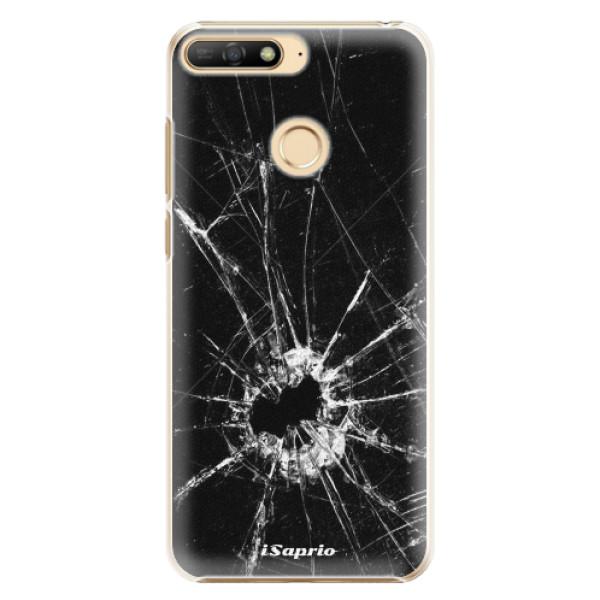 Plastové pouzdro iSaprio - Broken Glass 10 - Huawei Y6 Prime 2018