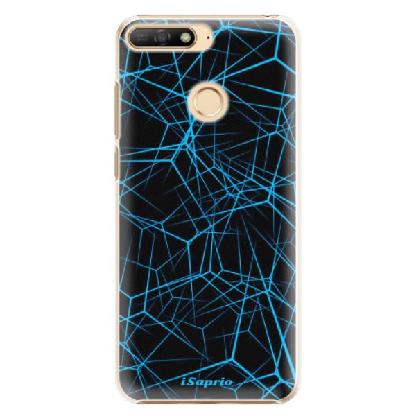 Plastové pouzdro iSaprio - Abstract Outlines 12 - Huawei Y6 Prime 2018