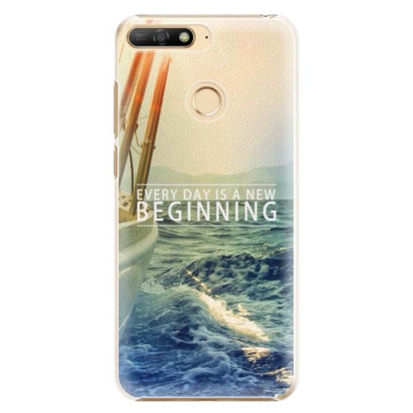 Plastové pouzdro iSaprio - Beginning - Huawei Y6 Prime 2018