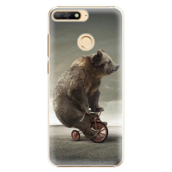 Plastové pouzdro iSaprio - Bear 01 - Huawei Y6 Prime 2018