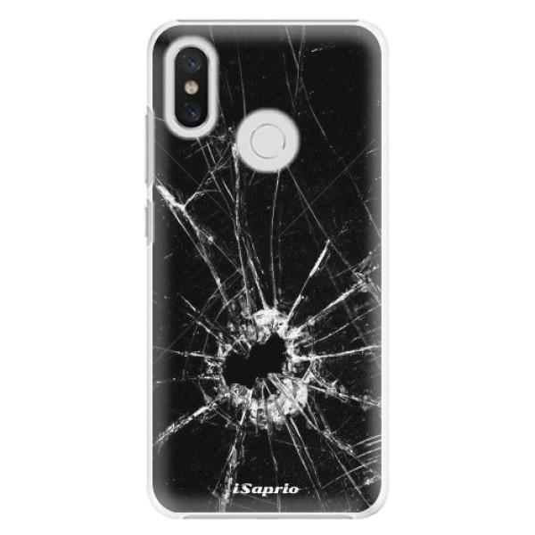 Plastové pouzdro iSaprio - Broken Glass 10 - Xiaomi Mi 8