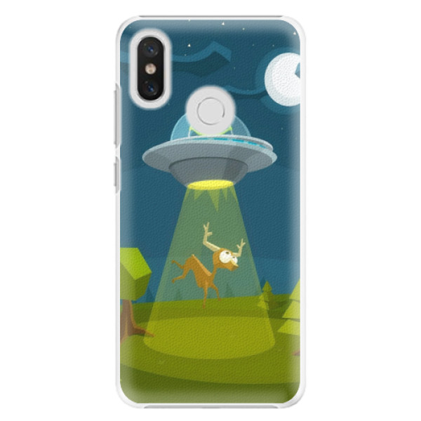 Plastové pouzdro iSaprio - Alien 01 - Xiaomi Mi 8