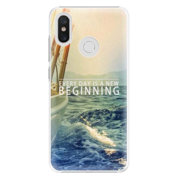 Plastové pouzdro iSaprio - Beginning - Xiaomi Mi 8