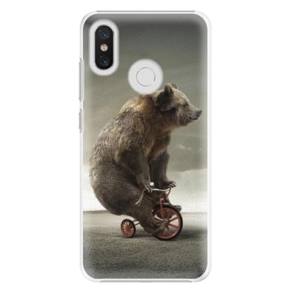 Plastové pouzdro iSaprio - Bear 01 - Xiaomi Mi 8
