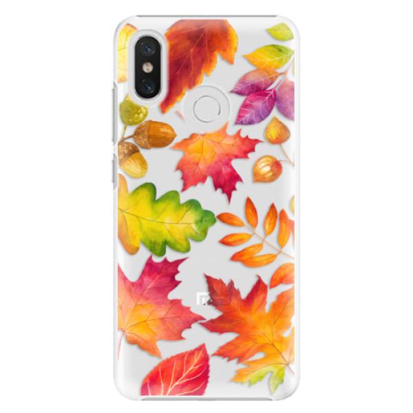 Plastové pouzdro iSaprio - Autumn Leaves 01 - Xiaomi Mi 8