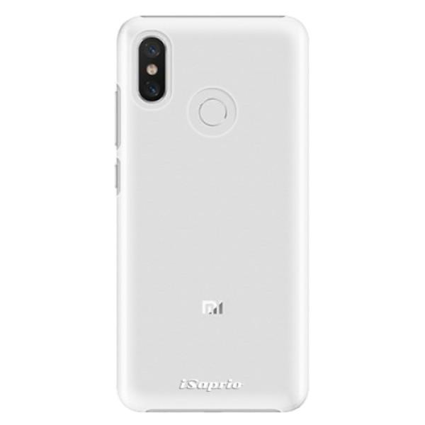 Plastové pouzdro iSaprio - 4Pure - mléčný bez potisku - Xiaomi Mi 8
