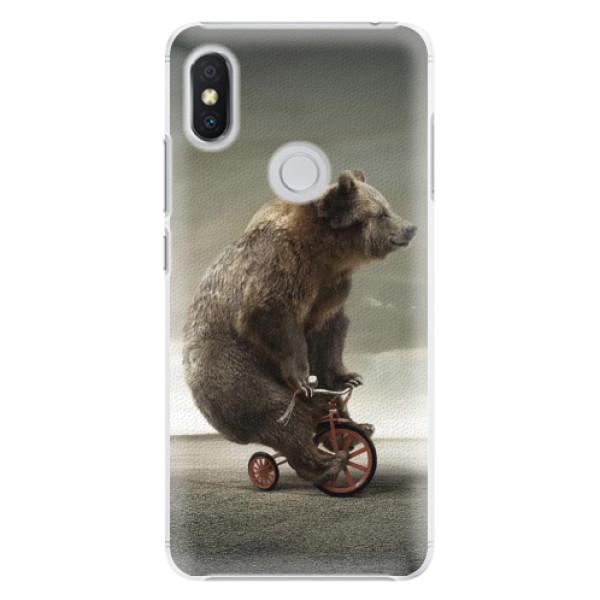 Plastové pouzdro iSaprio - Bear 01 - Xiaomi Redmi S2