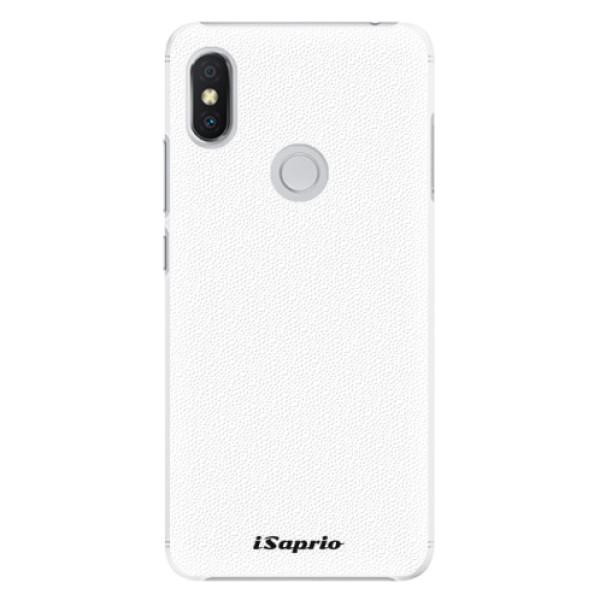 Plastové pouzdro iSaprio - 4Pure - bílý - Xiaomi Redmi S2