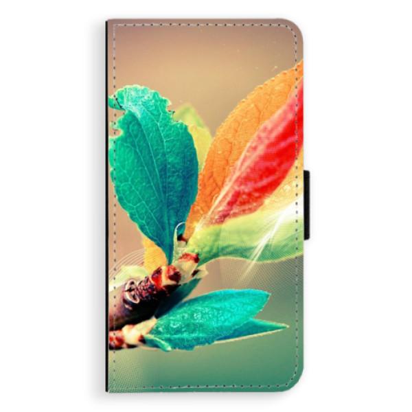 Flipové pouzdro iSaprio - Autumn 02 - iPhone X