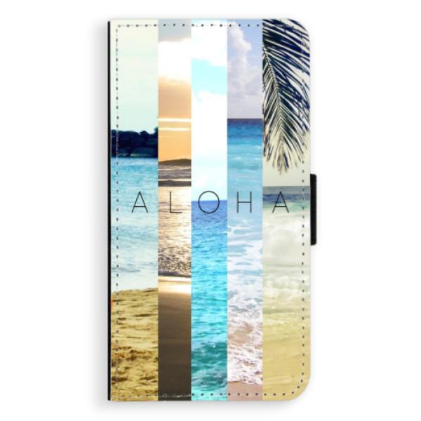 Flipové pouzdro iSaprio - Aloha 02 - iPhone X