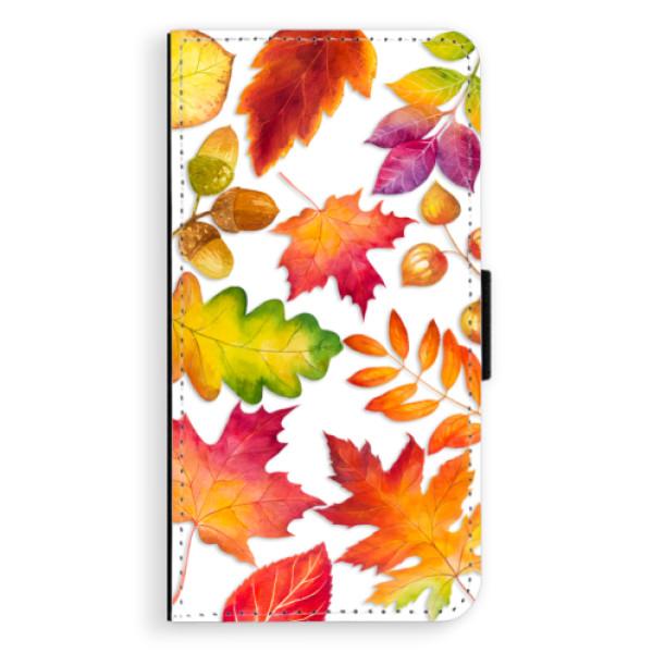 Flipové pouzdro iSaprio - Autumn Leaves 01 - iPhone X