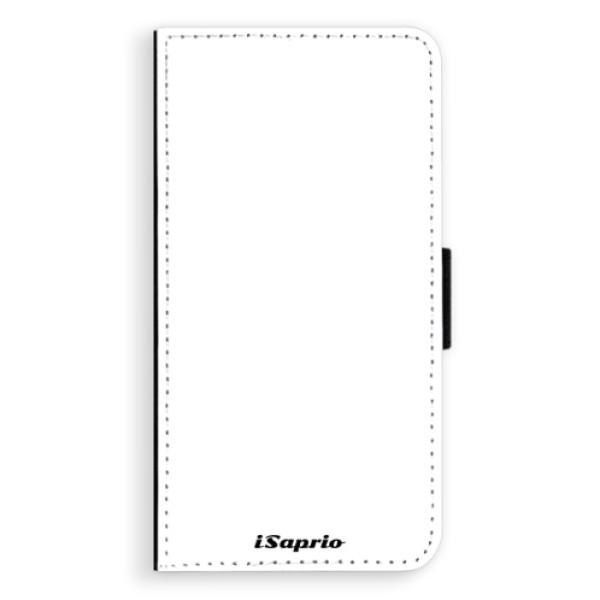 Flipové pouzdro iSaprio - 4Pure - bílý - iPhone X