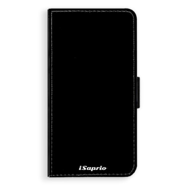 Flipové pouzdro iSaprio - 4Pure - černý - iPhone X