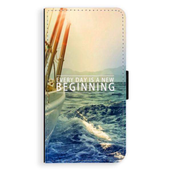 Flipové pouzdro iSaprio - Beginning - Samsung Galaxy S6