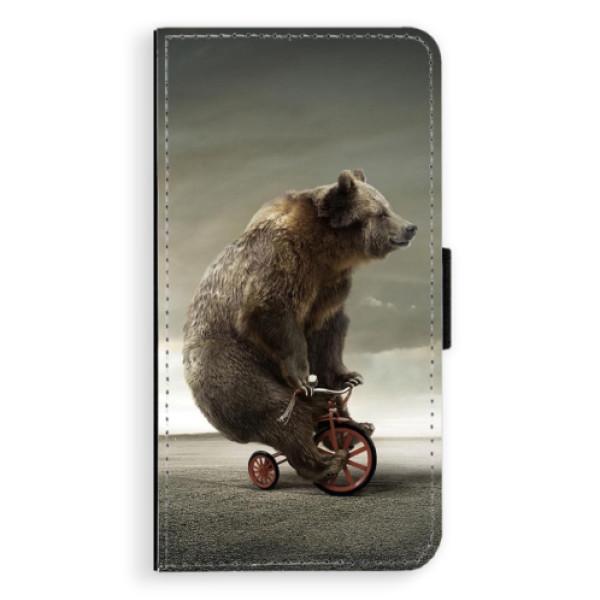 Flipové pouzdro iSaprio - Bear 01 - Samsung Galaxy S6