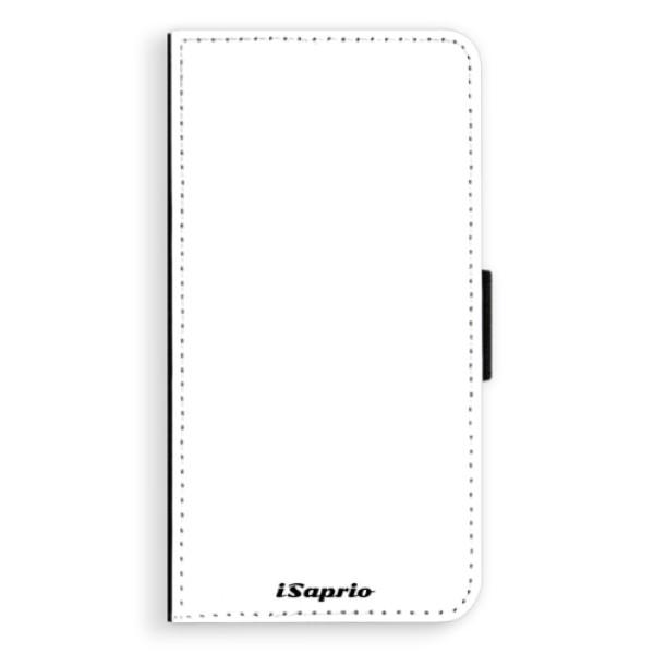 Flipové pouzdro iSaprio - 4Pure - bílý - Samsung Galaxy S6