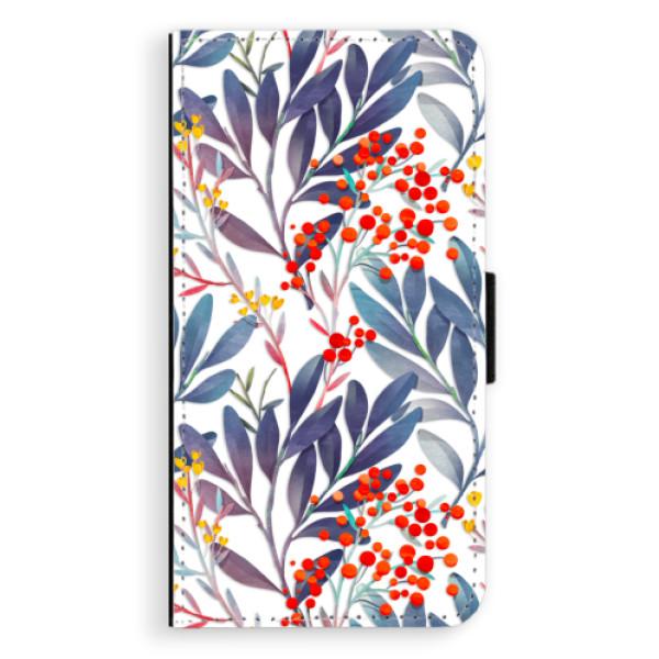 Flipové pouzdro iSaprio - Rowanberry - Samsung Galaxy S6