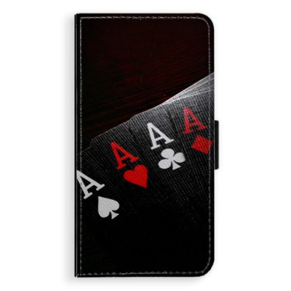 Flipové pouzdro iSaprio - Poker - Samsung Galaxy S6 Edge
