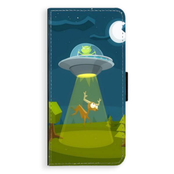 Flipové pouzdro iSaprio - Alien 01 - Samsung Galaxy S8 Plus