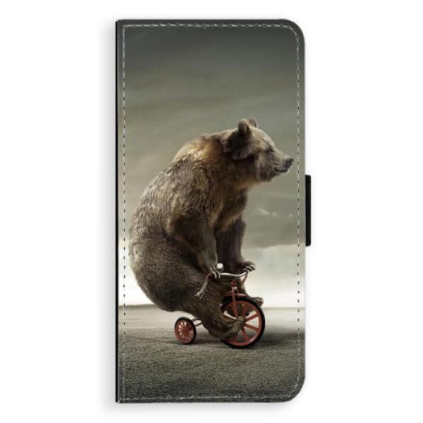 Flipové pouzdro iSaprio - Bear 01 - Samsung Galaxy S8 Plus