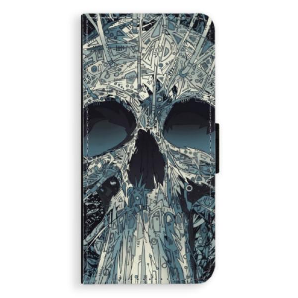 Flipové pouzdro iSaprio - Abstract Skull - Samsung Galaxy S8 Plus