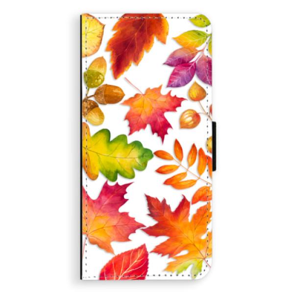 Flipové pouzdro iSaprio - Autumn Leaves 01 - Samsung Galaxy S8 Plus