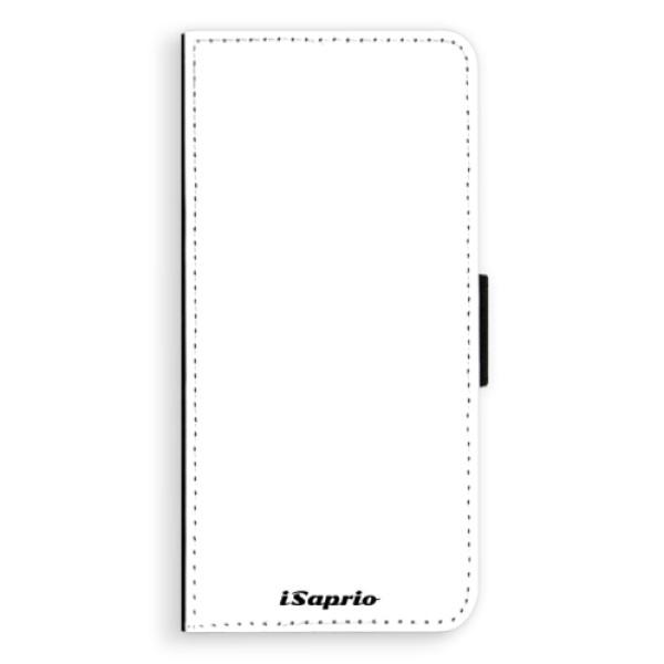 Flipové pouzdro iSaprio - 4Pure - bílý - Samsung Galaxy S8 Plus