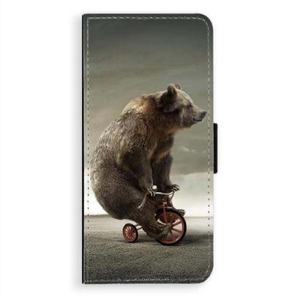Flipové pouzdro iSaprio - Bear 01 - Samsung Galaxy Note 8