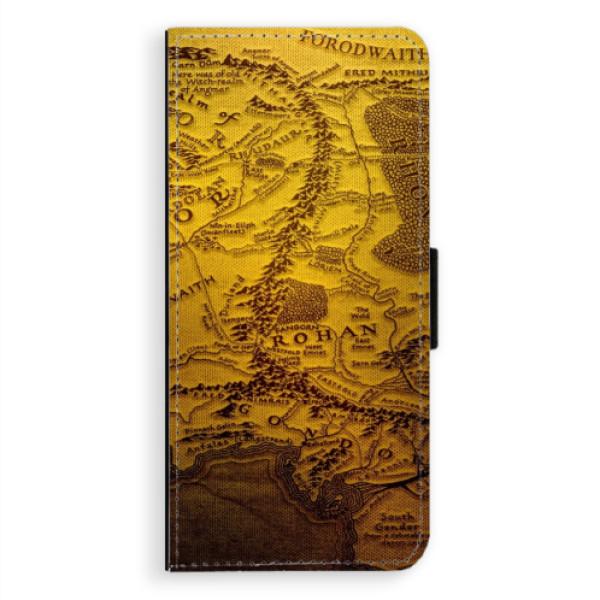 Flipové pouzdro iSaprio - Old Map - Samsung Galaxy Note 8